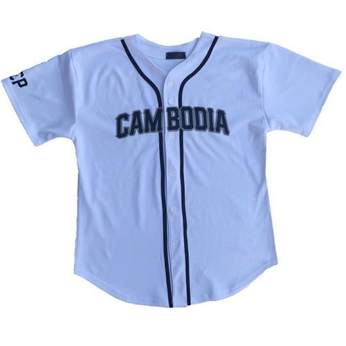 Image of REP CAMBODIA BASEBALL JERSEY