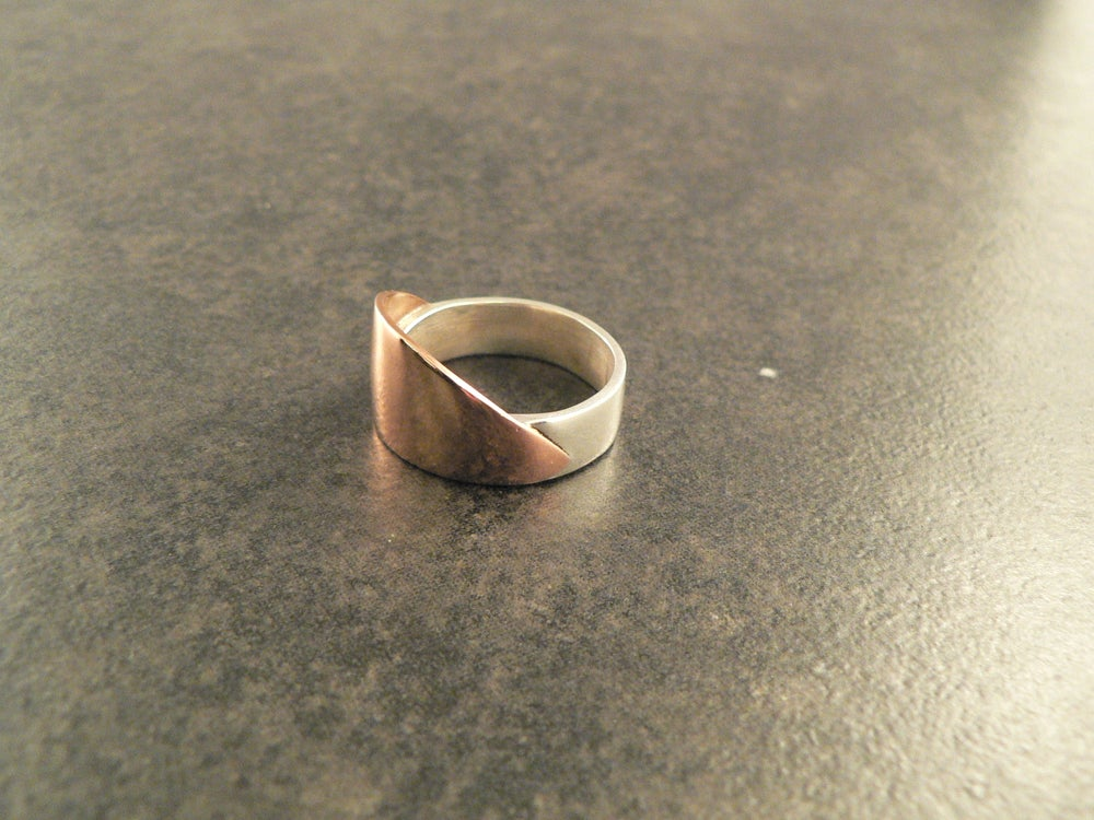 Image of Copper Wave Ring