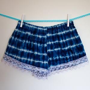 Image of Blue Tie-Dye