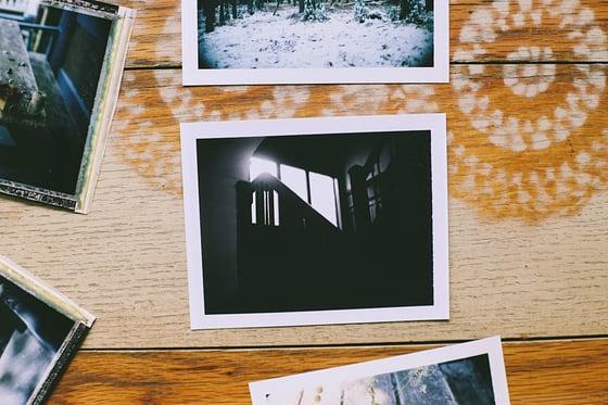Image of Black and White Original Polaroid