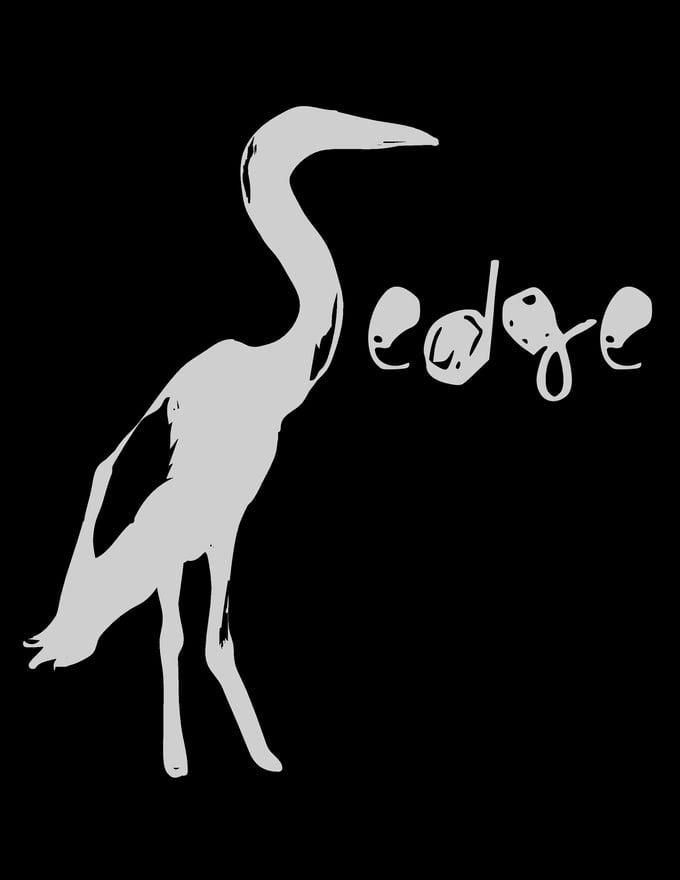 Image of Black Sedge T-Shirt (bird logo)