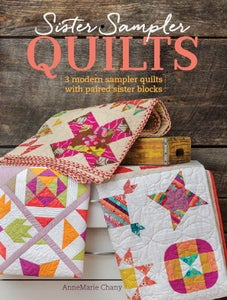 Image of Sister Sampler Quilts Book - Signed Copy