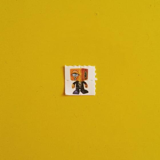 Image of Man-e-eyes Blotter Paper Prints