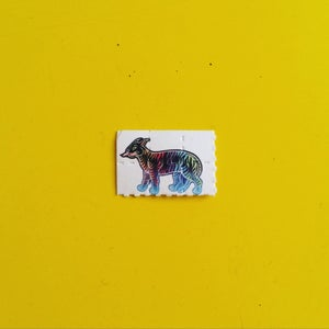Image of High of the Tiger Blotter Paper Prints