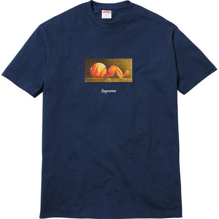 Image of Supreme - Peel Box Tee (Navy)