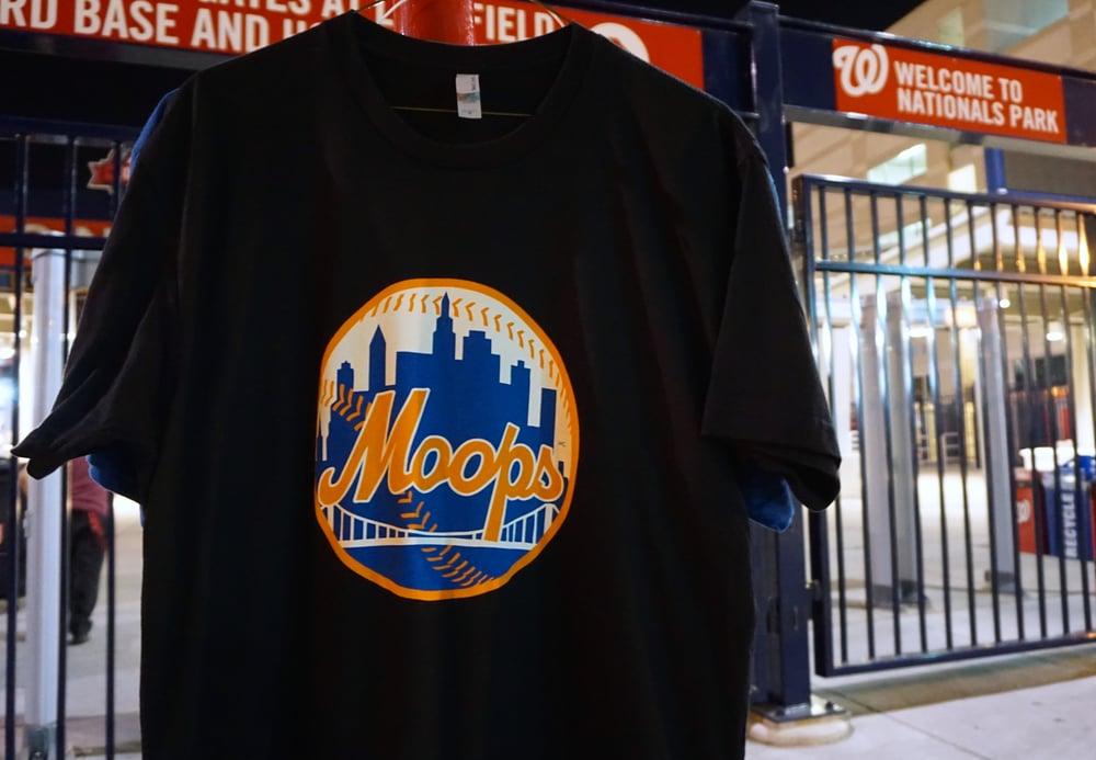 Image of Mango City Moops T-shirt (black)