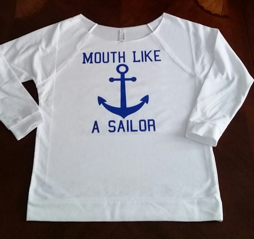 Image of MOUTH LIKE A SAILOR French Terry