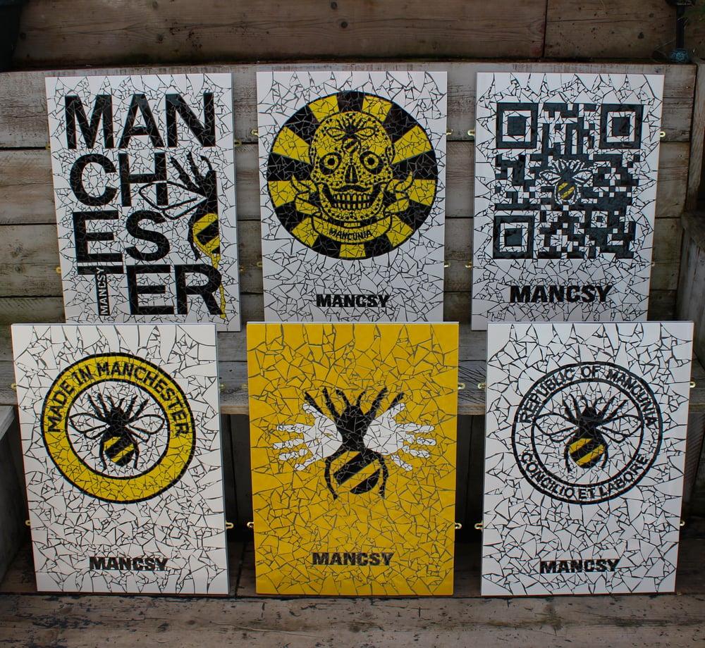 Image of MANCSY COLLABORATION Mosaics