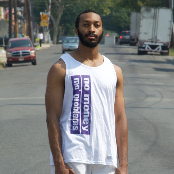 Image of No Money, Mo' Problems Tank Top - Purple