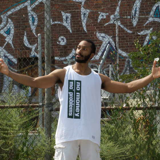 Image of No Money, Mo' Problems Tank Top - Green