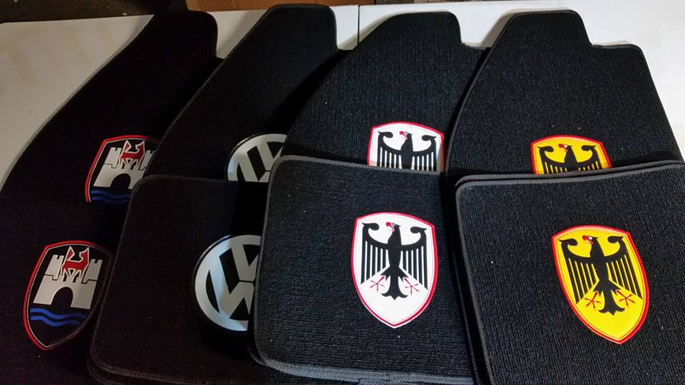 Image of VW BUG CARPET FLOOR MATS (SET)