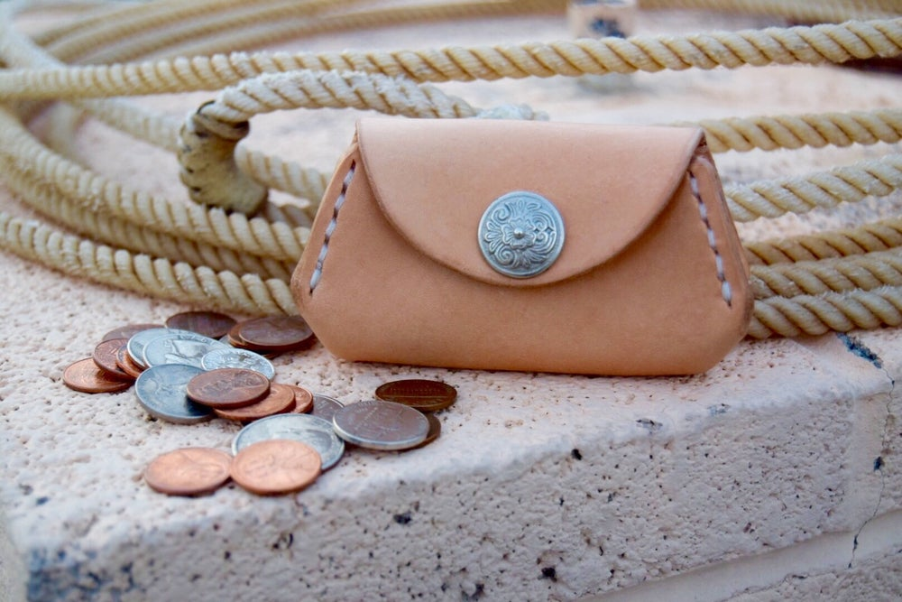 """Image of On the Rocks """"coin purse"""""""