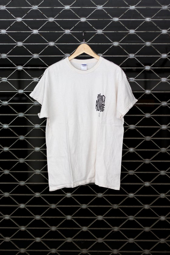 Image of 'The Wild Rumble White' - Pocketprint Shirt