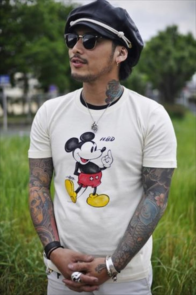 Image of FUCK YOU MICKEY TEE
