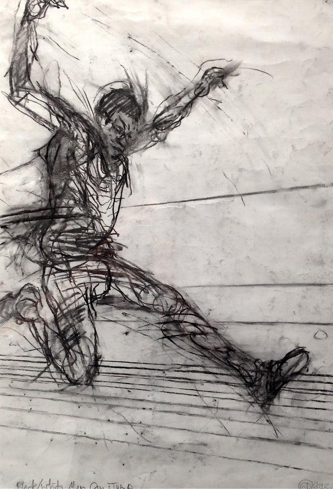 Image of Greg Derham - Black/ White Men Can Jump