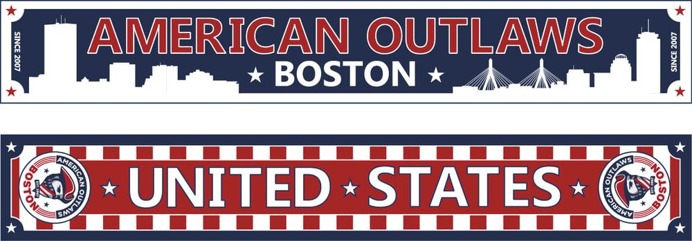 Image of AO Boston 2015 Scarf (IN STOCK)