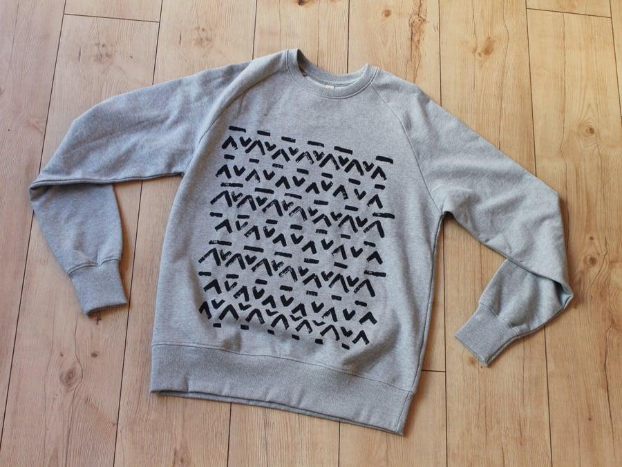 Image of Tribal pattern sweatshirts