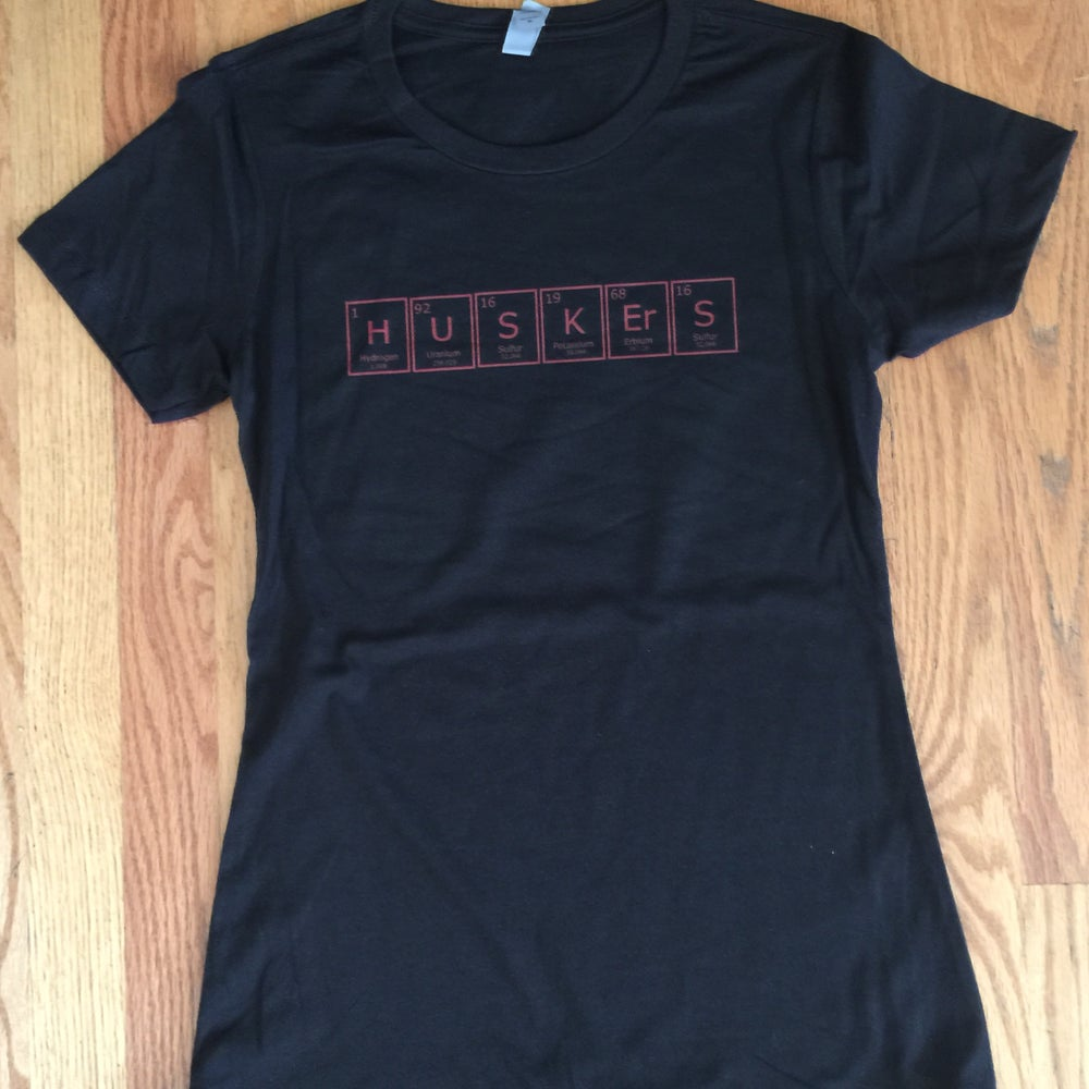 Image of periodic huskers. - graphic tee