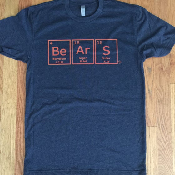 Image of periodic bears. - graphic tee