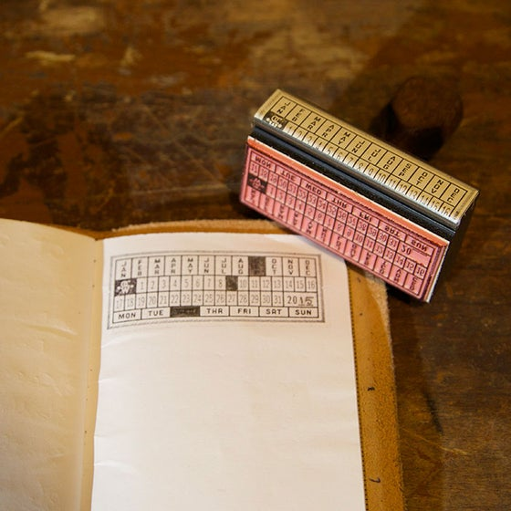 Image of Notebook Journaling Date Stamp