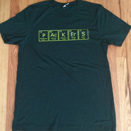 Image of periodic packers. - graphic tee