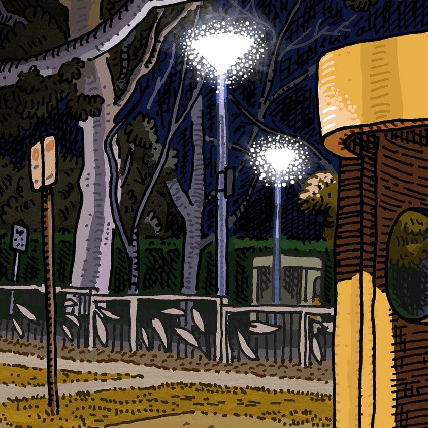 Image of Deakin, Hopetoun Circuit, digital print