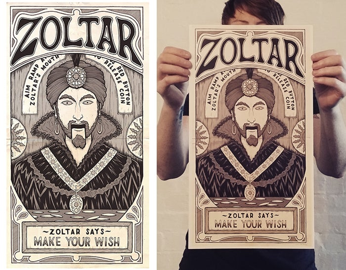 Image of Zoltar print