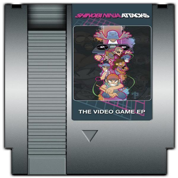 Image of Shinobi Ninja Attacks Video Game EP NES Cartridge Edition