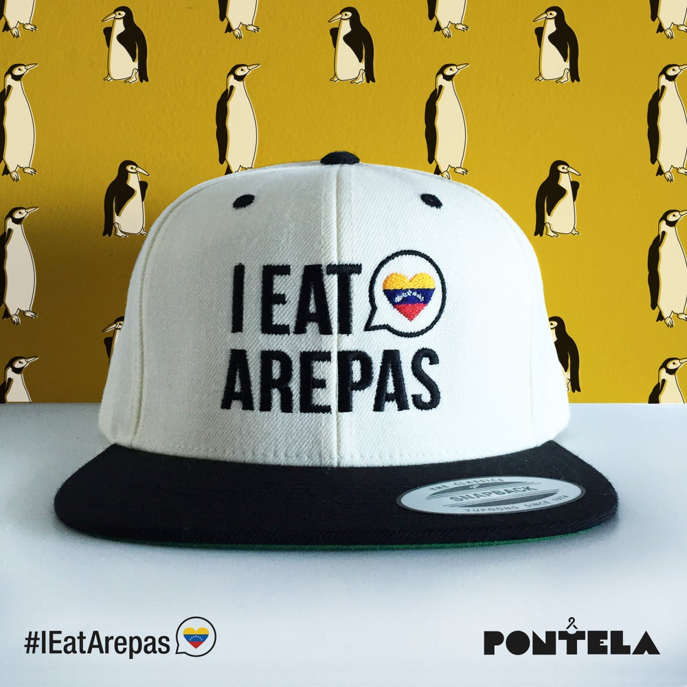 Image of I Eat Arepas White/Black