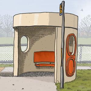 Image of Knox Street, Watson Bus Shelter