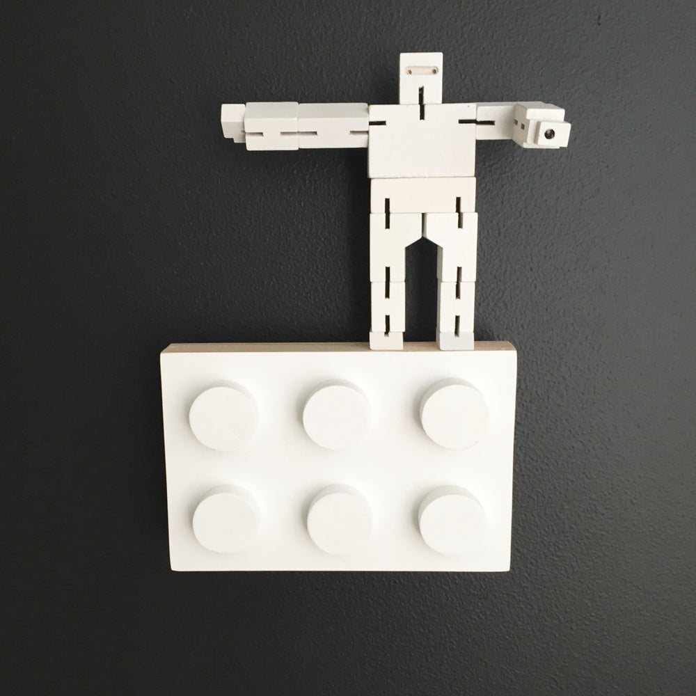 Image of Large Block wall hook - Removable