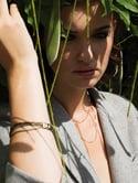 gourmette 5 rangs /5-Band simple-cuff bracelet