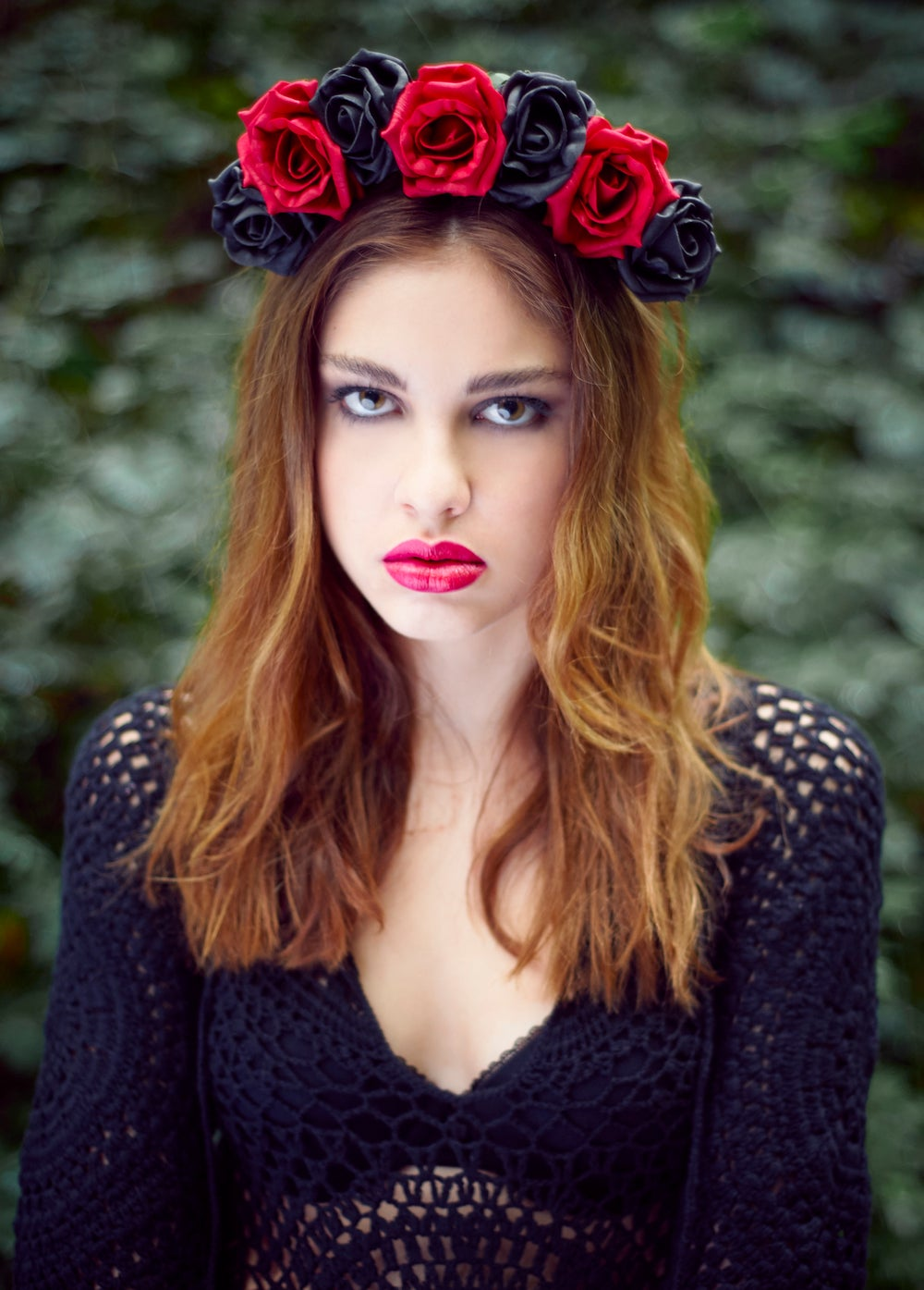 Image of Blooming Rose Crown Bella