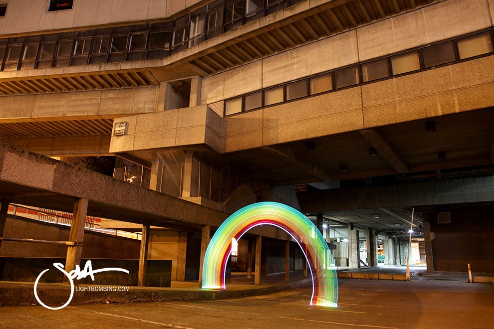 Image of Original - Urban Rainbow