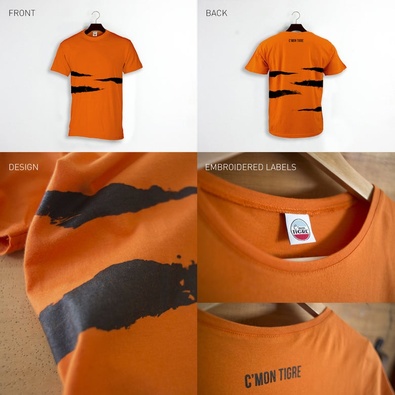 Image of T-shirt Orange