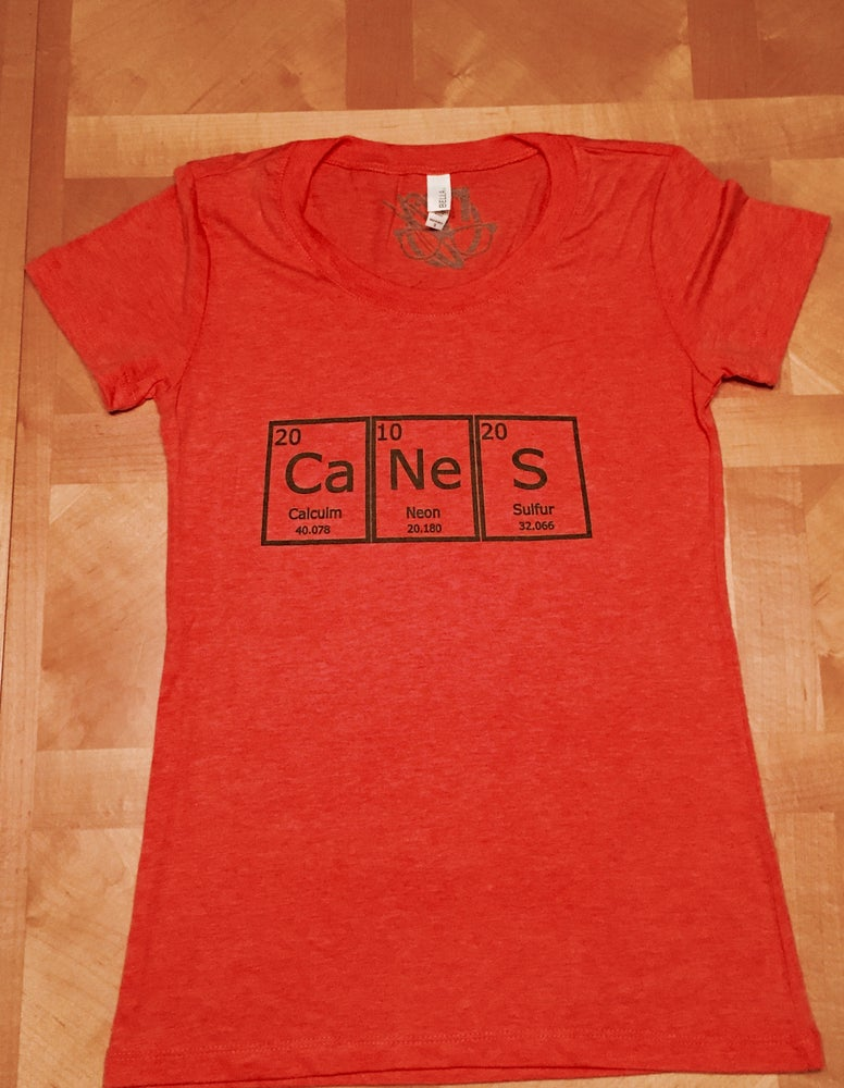 Image of periodic canes. - graphic tee