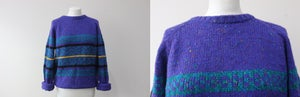 Image of Purple Knit by Allen Wickfield Size M