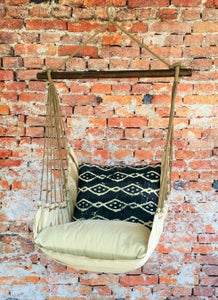 Image of Hammock Swing Chair - Navy Tribal