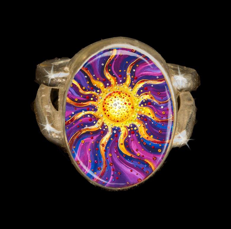 Image of El Sol Yang Energy Empowerment Ring