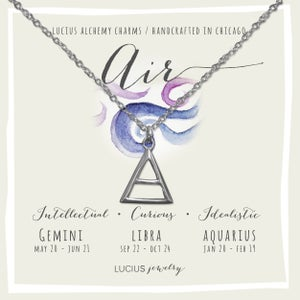 Image of LUCIUS Alchemy Charms - Air