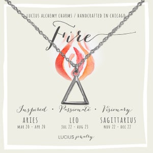 Image of LUCIUS Alchemy Charms - Fire