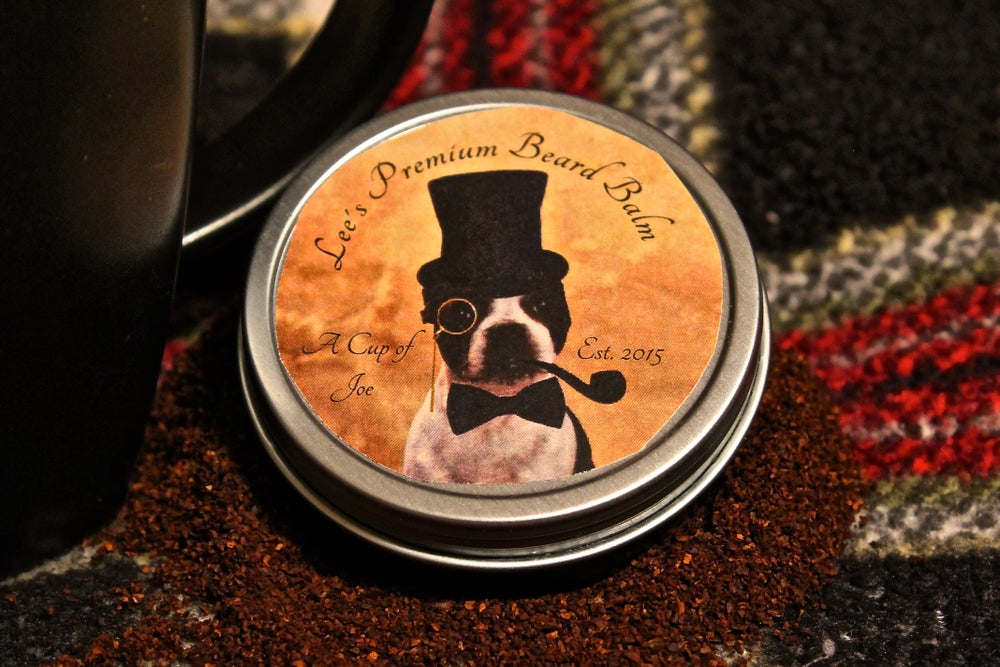 Image of Lee's Premium Beard Balm - A Cup of Joe