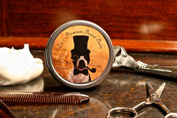 Image of Lee's Premium Beard Balm - Shave and a Haircut