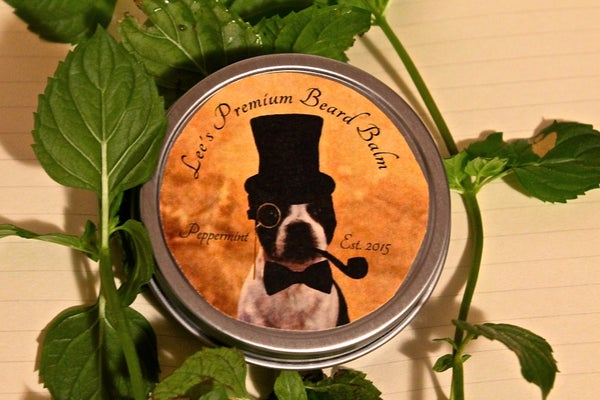 Image of Lee's Premium Beard Balm - Peppermint