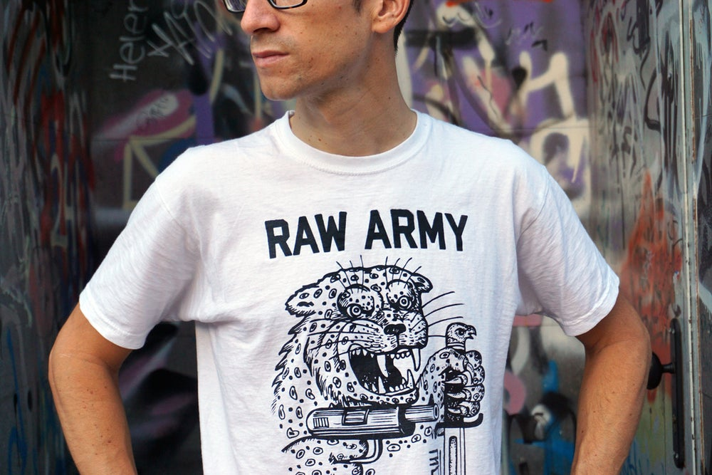 Image of RAW Army T-Shirt