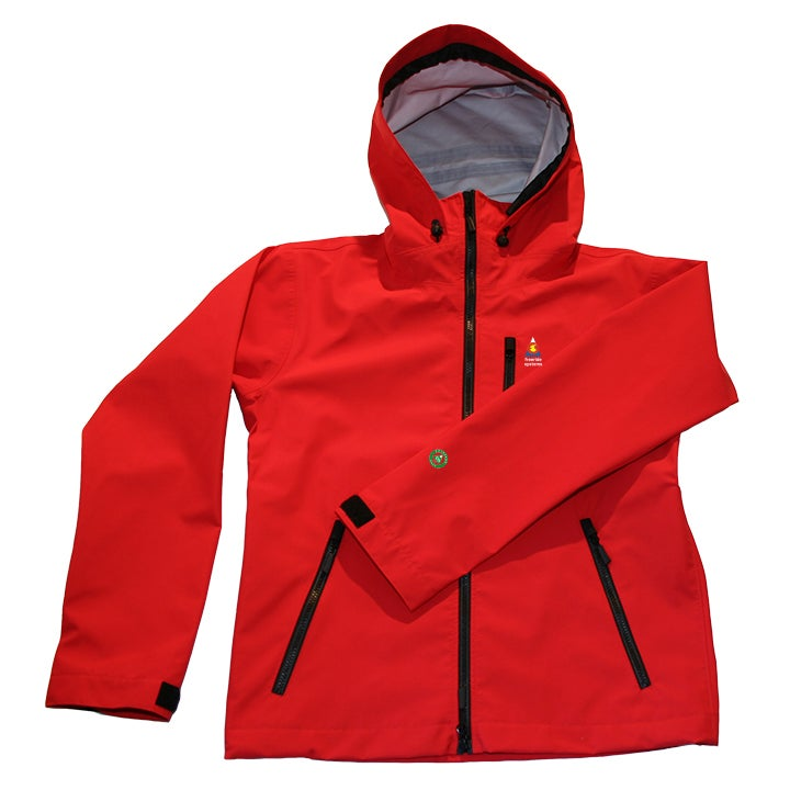 Image of Antero II Plus Hardshell Polartec Neoshell Jacket Red