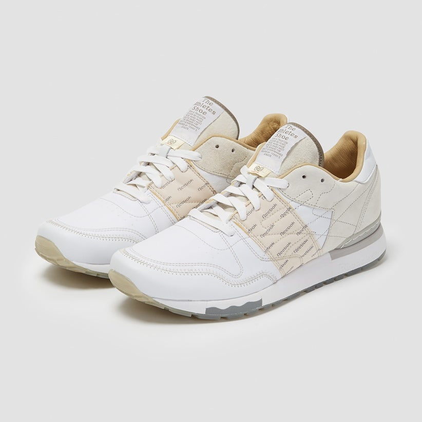 Image of Reebok X Garbstore CL6000 Leather White/ Steel Grey