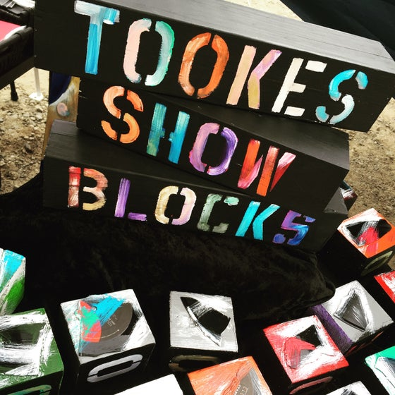 "Image of Monica Tookes Art ""MT SHOW BLOCKS"""