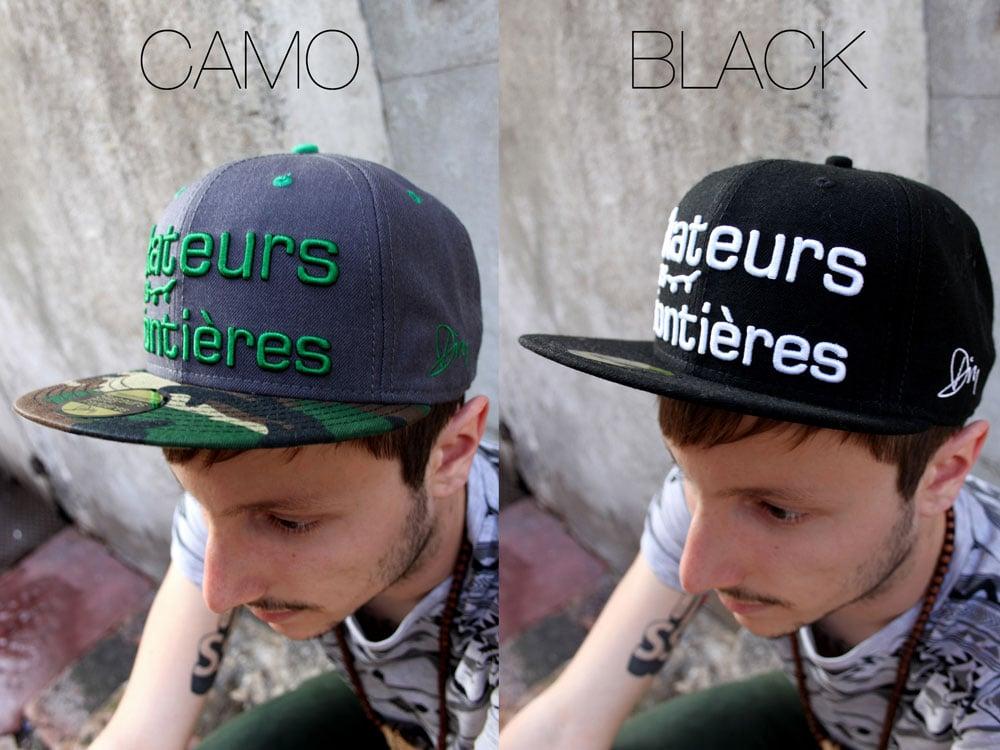 Image of Snapback Black