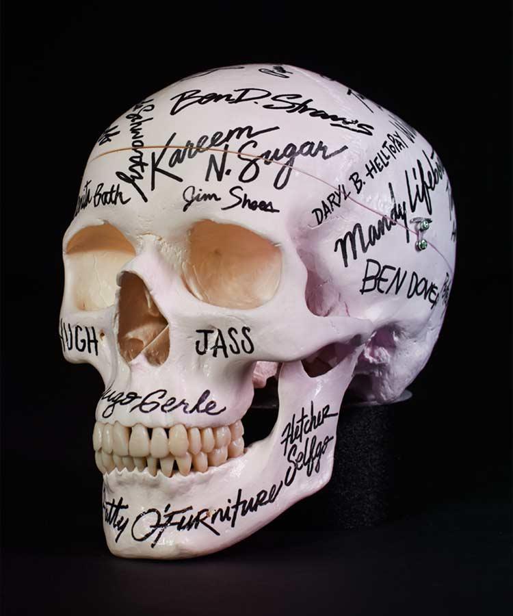 Dark Igloo — Championship Skull (Autographed)